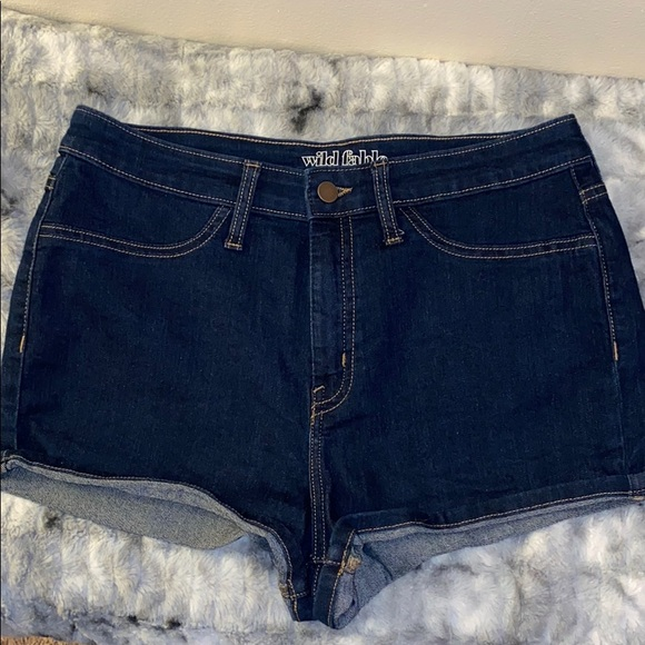 Wild Fable Jean Shorts Size 12